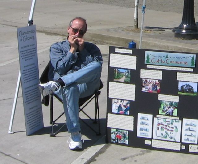 farmers-market-coho-booth-steve-on-harmonica