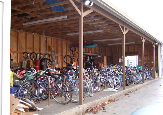 open bike barn