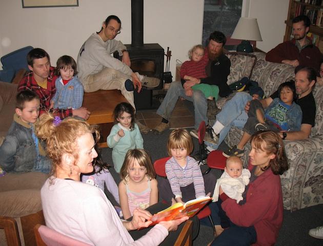 readingabookatkidsklub