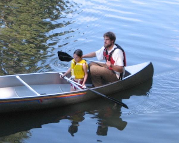 Boating was popular.