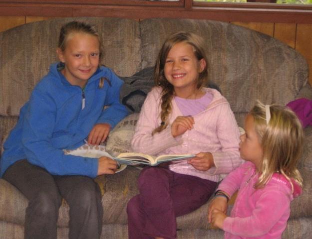 Kids enjoy reading.