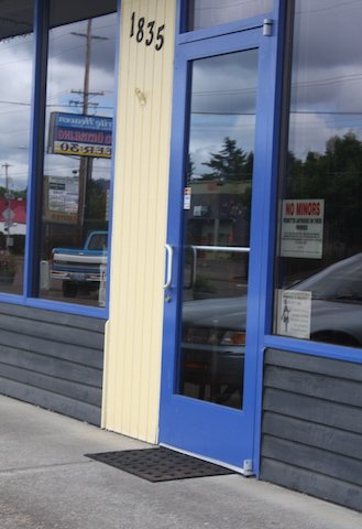 blue door 9