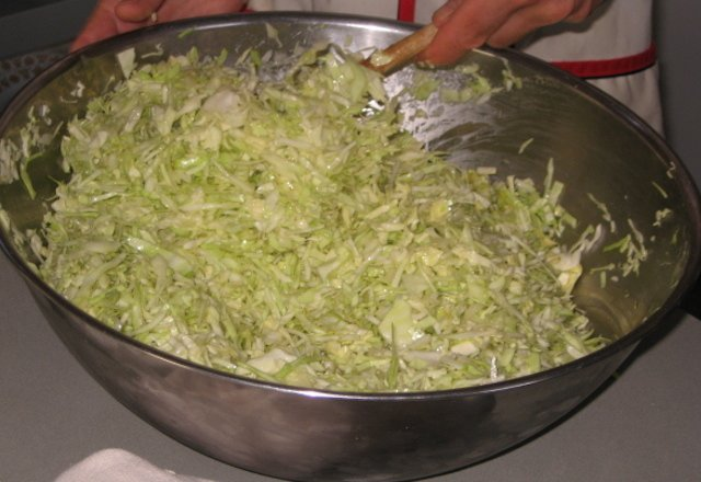 %22I Can't Believe It's Just Cabbage%22 Salad