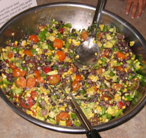 Black Bean : Tomato : Corn Salad