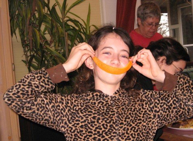 Big Orange Smile