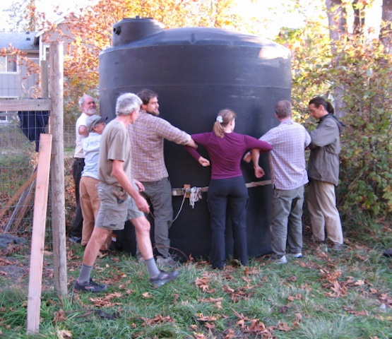 CoHoots teamed up to position the cistern
