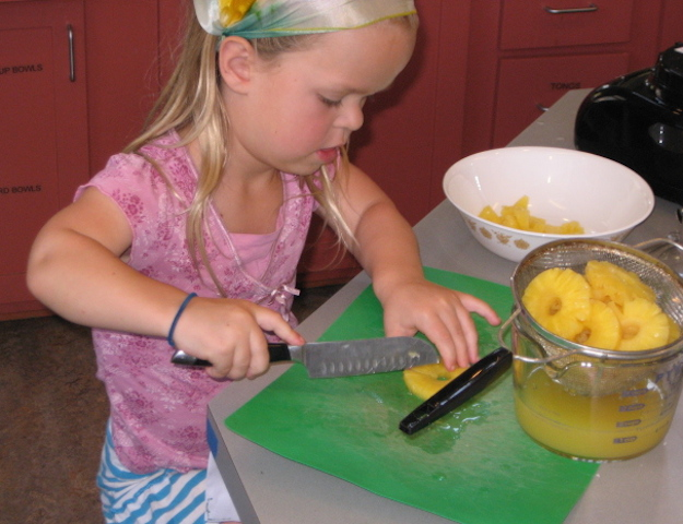Kids share their culinary talents
