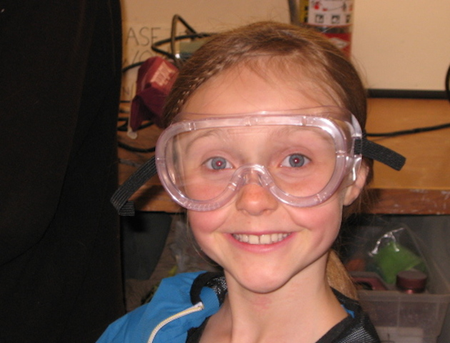 Protective eye wear can also be a fashion statement!