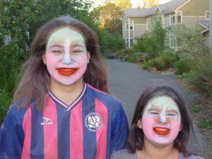 Are these Kabuki actors with Kumadori makeup?